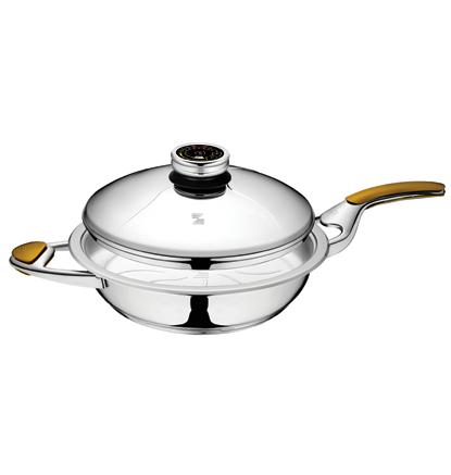 Сковорода Zepter 2.8 л, 28 см, с крышкой